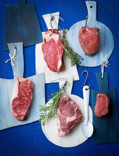 Making of a Steak