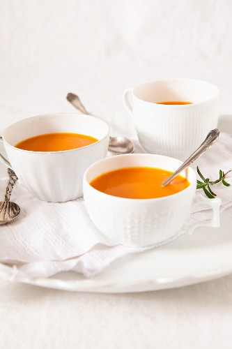 Tomato soup with rosemary