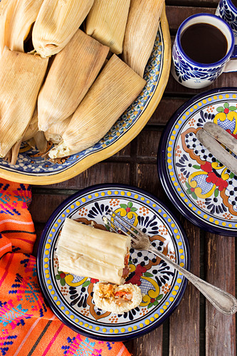 Stuffed Tamales (Mexico)