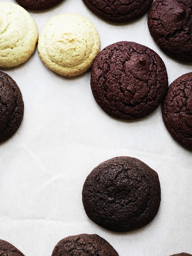 Tops and bottoms of assorted Whoopie Pies