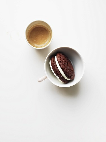 Whoopie Pie and coffee