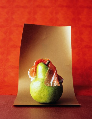 A Pear with Prosciutto