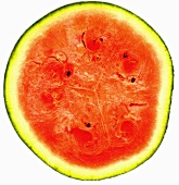 Halved water melon (cross section)