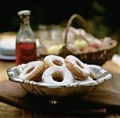 Kuchen-Kringel aus Kartoffelteig