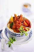 Tom Yam Gung (Prawn soup, Thailand)