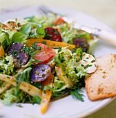 Ein Salatteller