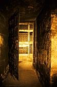 Wine cellar of Bodega CVNE in Haro, Rioja Alta, Spain