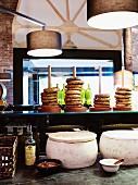 Bagels im Restaurant