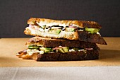 Mexican grilled cheese sandwich with avocado