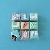 Square Christmas fancies