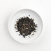 Jasmine tea (dry) on plate