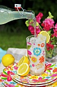 Lemonade for a picnic