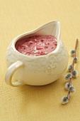 Horseradish cranberry sauce