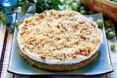 Gooseberry cream cake