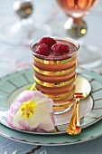 Raspberry jelly for Easter