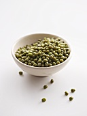 A bowl of mung beans