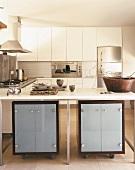 kaufen sie bilder zum thema kochinsel. Black Bedroom Furniture Sets. Home Design Ideas