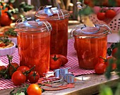 Tomatoes, fresh and bottled