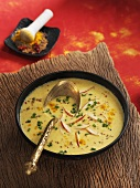 Indian-style parsnip soup