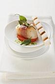Scallops with Parma ham and sage