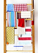Assorted tea towels