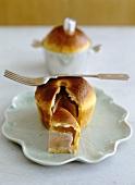 Goose foie gras in brioche dough