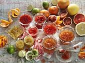 Various marmalades