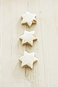 Three cinnamon stars