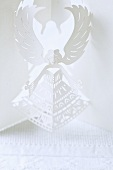 A white paper angel