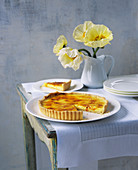 Caramelized lemon tart