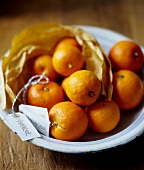 Whole Oranges for Making Marmalade