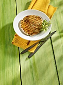 Grilled turkey escalope