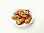 Chicken goujons with dip