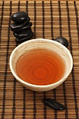 Tea for health in ceramic bowl