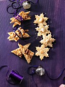 Macadamia and coconut stars & nut slices