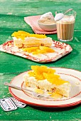 Tarta de Naranja (creamy orange cake)