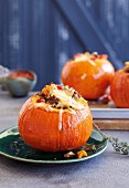 Stuffed Hokkaido pumpkins