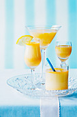 Eggnog and tonic (Easter drinks)