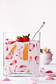 Strawberry tiramisu for Easter