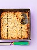 Butter tarts tray bake (Canada)
