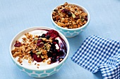 Granola with yoghurt