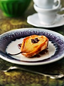 Pear tart with star anise