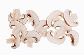 Sliced mushrooms