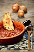Friggione bolognese (tomato sauce with onions, Italian)