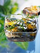 Sardine, fennel and orange terrine