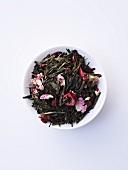 Green tea blend (orchid-berry)