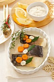 Carp in aspic for Christmas