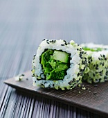 Inside out sushi