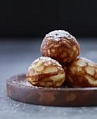 Aebleskiver (Danish doughnuts)
