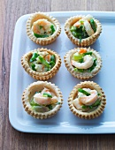 Prawn tartlets (Scandinavia)